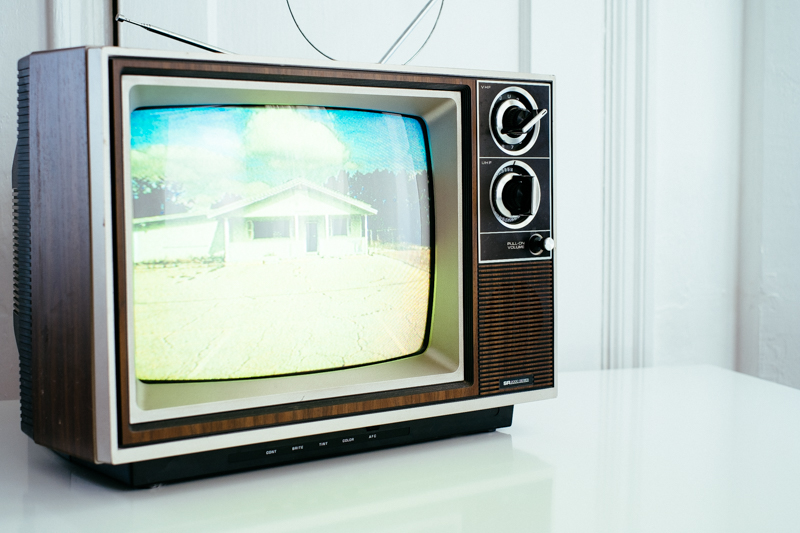 TV on with Picture of Structure